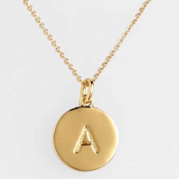 kate spade one in a million initial necklace